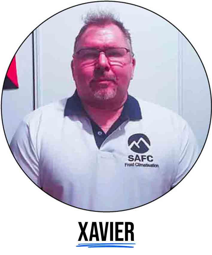 photo de profil d'un climaticien et frigoriste professionnel qui travaille chez la société safc
