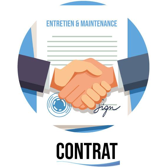 Contrat d'entretien et de maintenance pour la clim et les équipements frigorifiques
